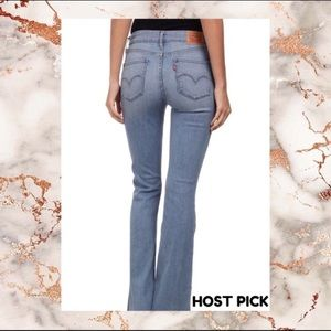 Levi's High Waisted Flare Jeans